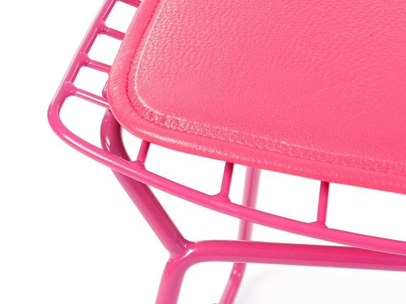 Image de l'article Chaise enfant Bertoia Wire Side - Rose