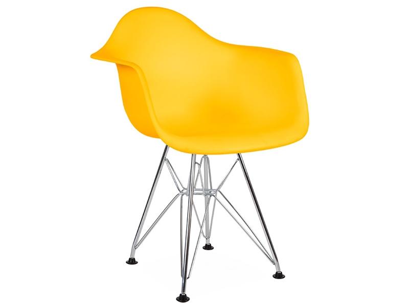 chaise enfant eames dar jaune. Black Bedroom Furniture Sets. Home Design Ideas