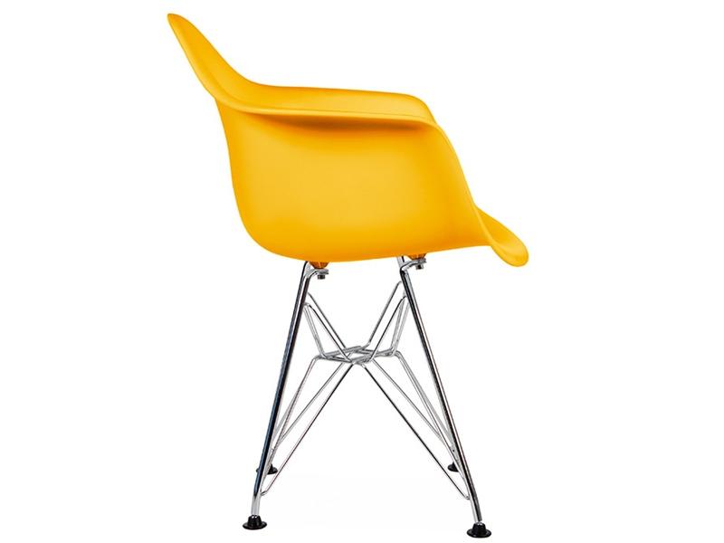 Chaise enfant eames dar jaune for Chaise enfant eames