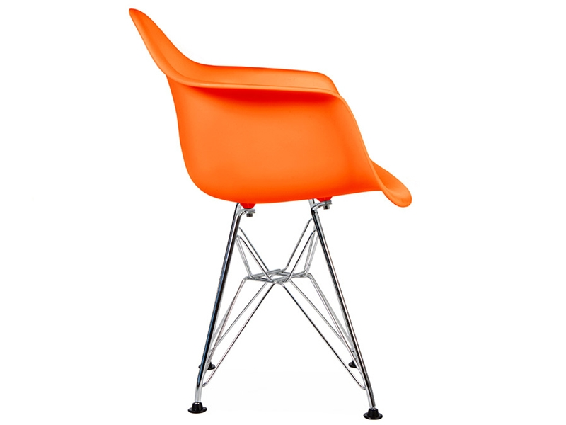 Chaise enfant eames dar orange for Eames chaise enfant