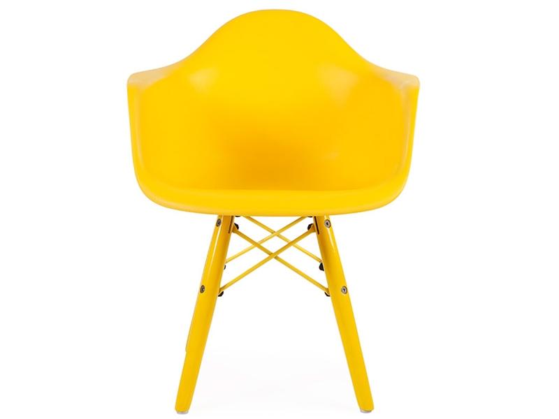 Chaise enfant eames daw color jaune for Chaise enfant eames