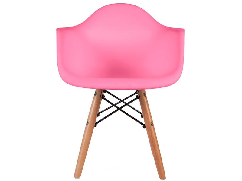 chaise enfant eames daw rose. Black Bedroom Furniture Sets. Home Design Ideas