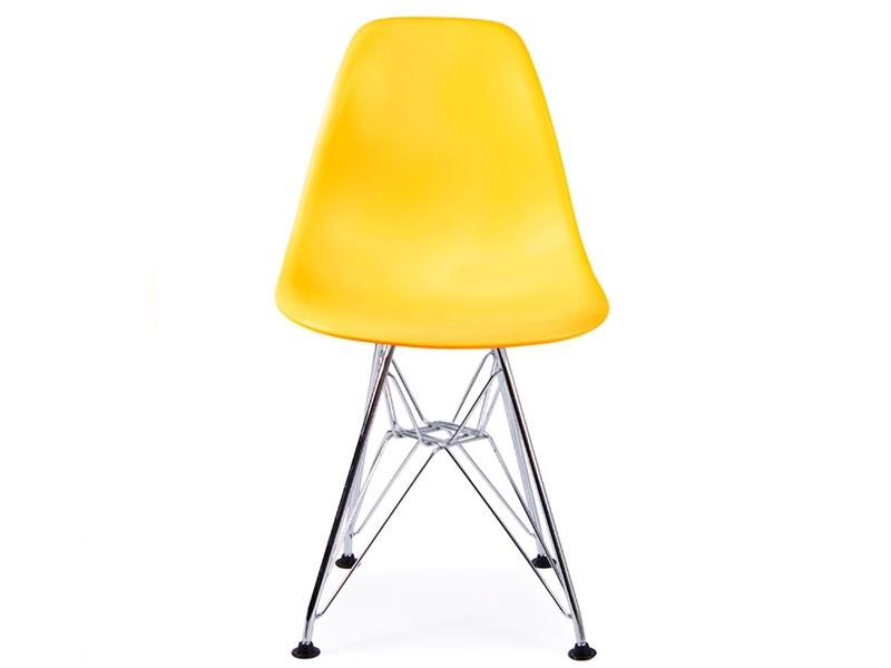 chaise enfant eames dsr jaune. Black Bedroom Furniture Sets. Home Design Ideas