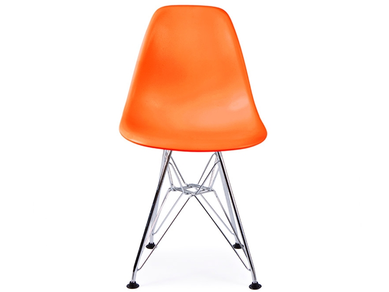 Chaise enfant eames dsr orange for Chaise eames pour enfant