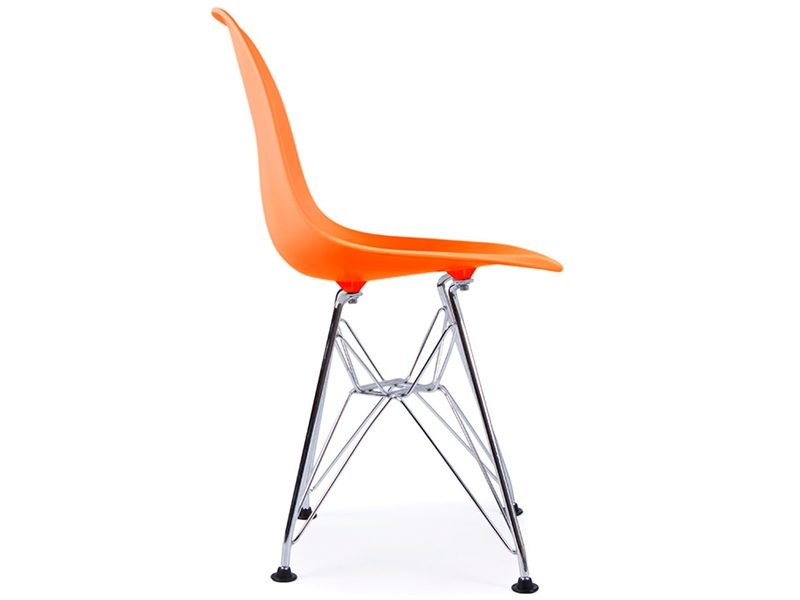 Chaise enfant eames dsr orange for Eames chaise enfant
