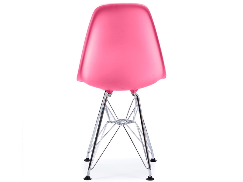Chaise enfant eames dsr rose for Chaise eames pour enfant