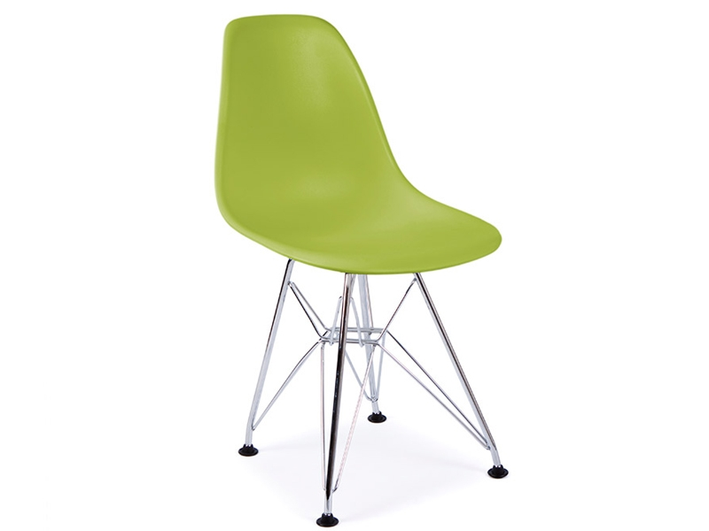 Chaise enfant eames dsr vert for Eames chaise enfant