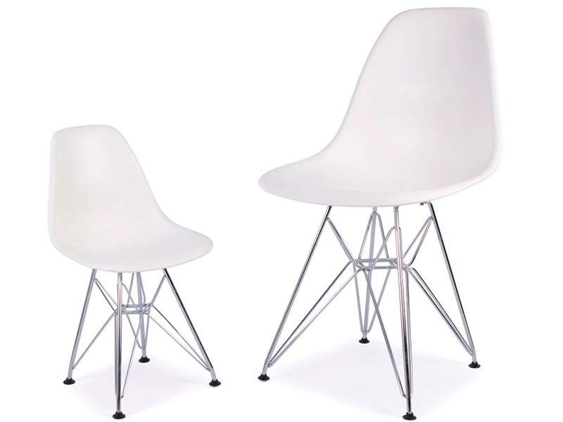 chaise enfant eames dsr vert. Black Bedroom Furniture Sets. Home Design Ideas