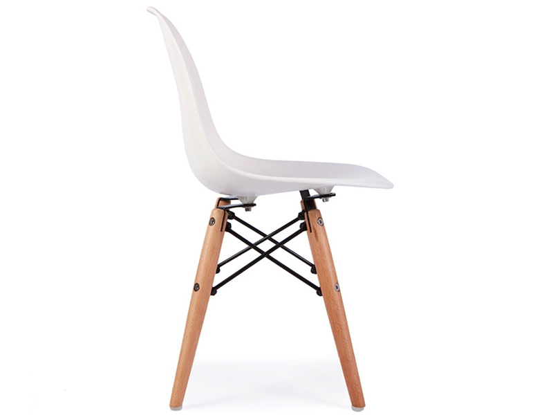 Chaise enfant eames dsw blanc for Chaise eames dsw blanc