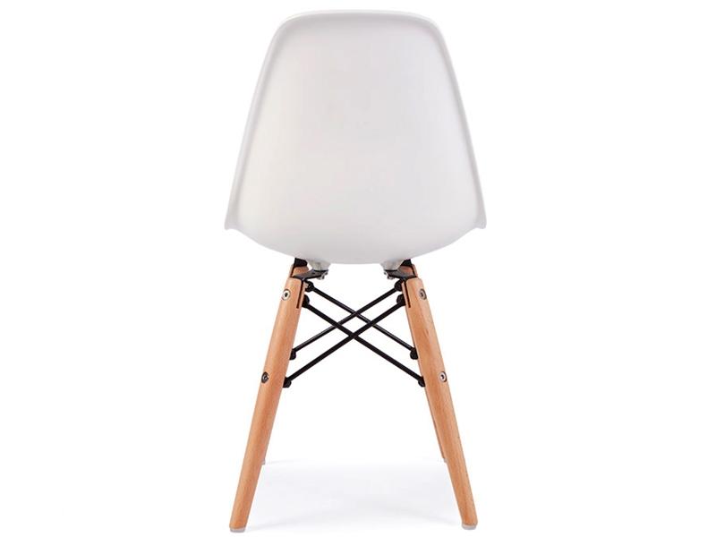 Chaise enfant eames dsw blanc for Chaise eames pour enfant