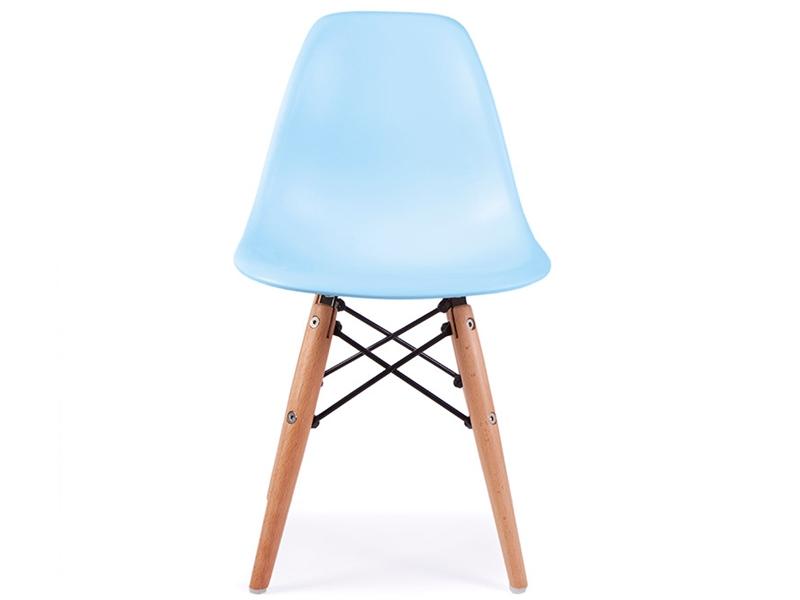 Chaise enfant eames dsw bleu for Chaise eames bleu petrole