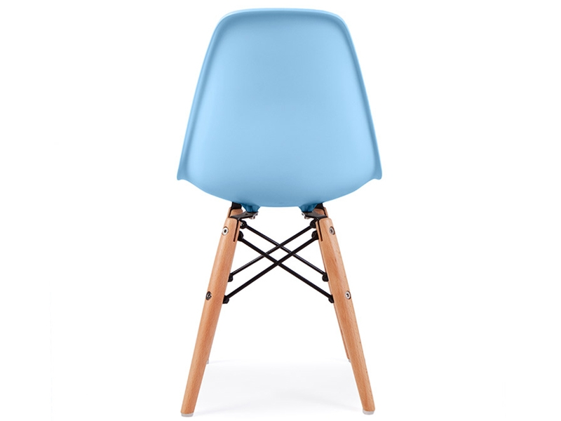 Chaise enfant eames dsw bleu for Eames chaise enfant