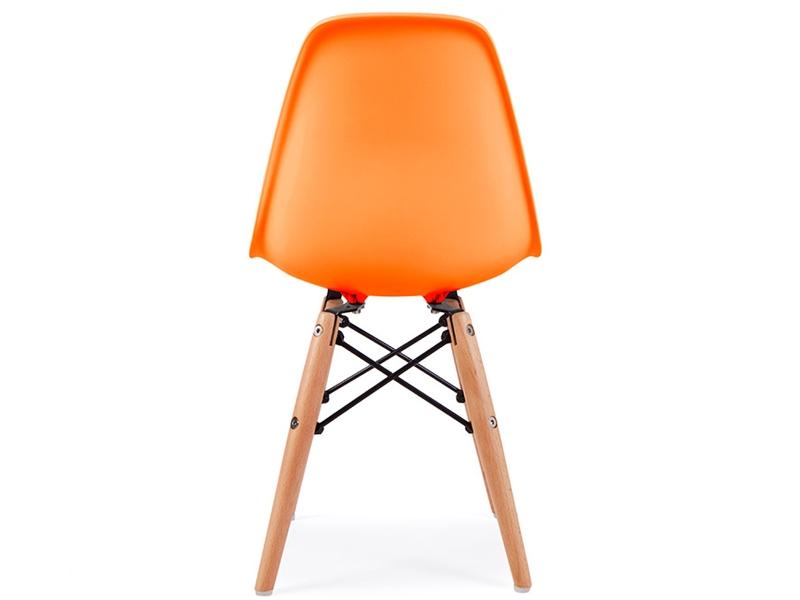 chaise enfant eames dsw orange. Black Bedroom Furniture Sets. Home Design Ideas