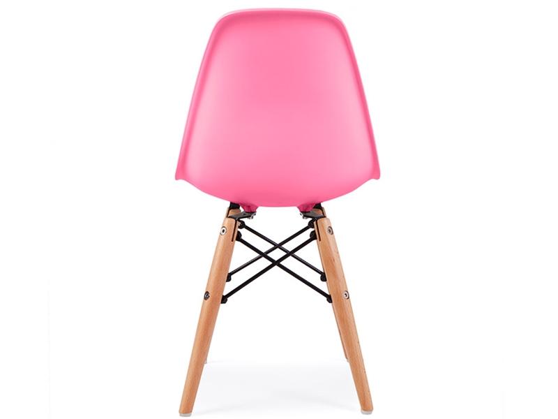 chaise enfant eames dsw rose. Black Bedroom Furniture Sets. Home Design Ideas