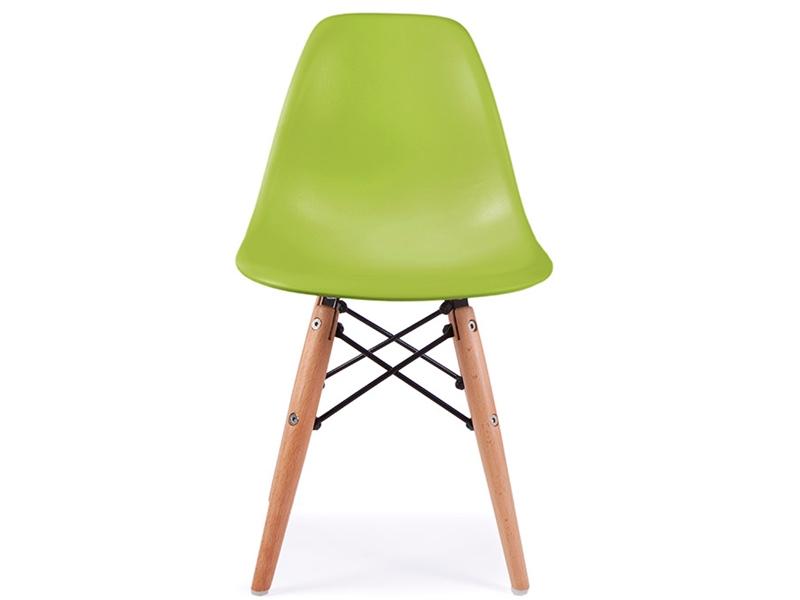 chaise enfant eames dsw vert. Black Bedroom Furniture Sets. Home Design Ideas