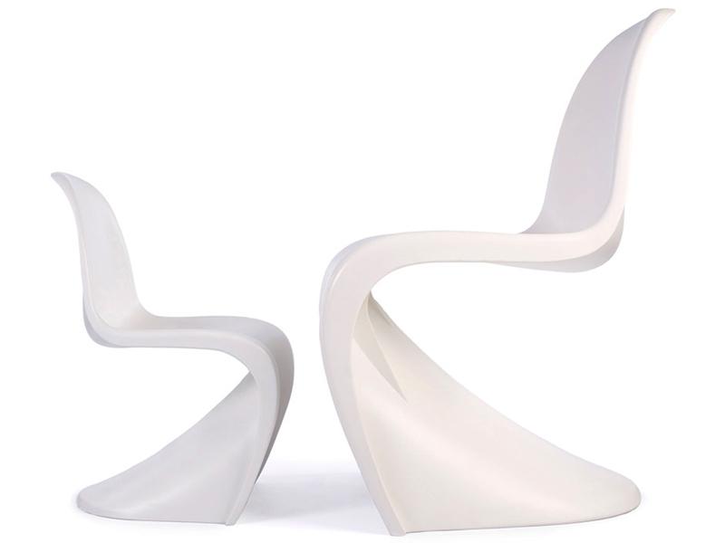chaise enfant panton jaune. Black Bedroom Furniture Sets. Home Design Ideas