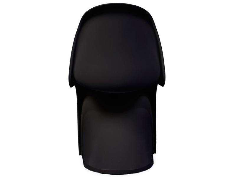 chaise enfant panton noir. Black Bedroom Furniture Sets. Home Design Ideas