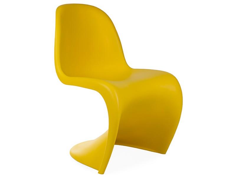 chaise panton jaune. Black Bedroom Furniture Sets. Home Design Ideas