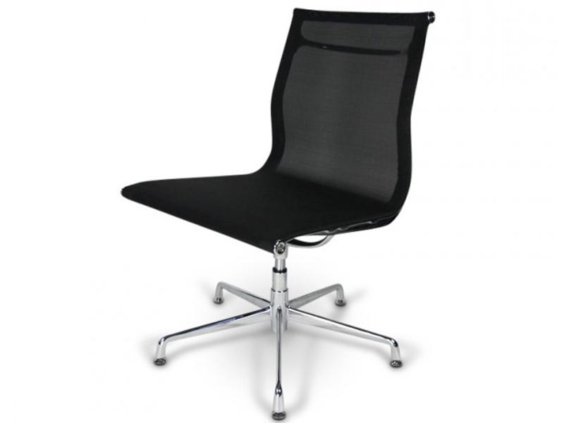 chaise visiteur ea105 noir. Black Bedroom Furniture Sets. Home Design Ideas