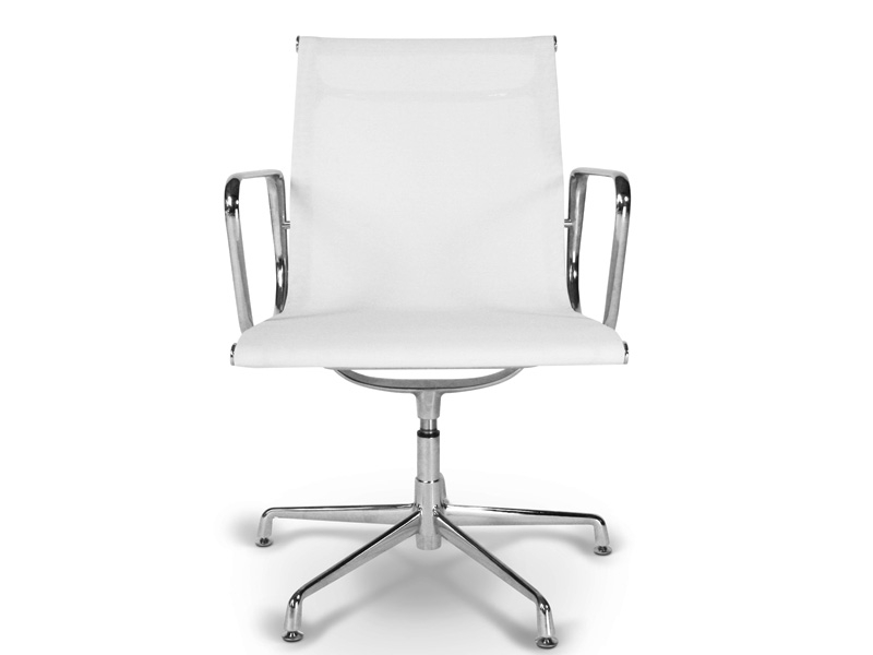 Chaise visiteur ea108 blanc for Chaise visiteur