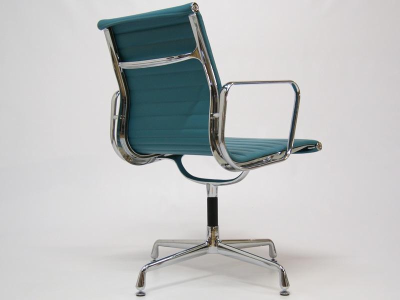 Chaise visiteur ea108 bleu for Chaise visiteur