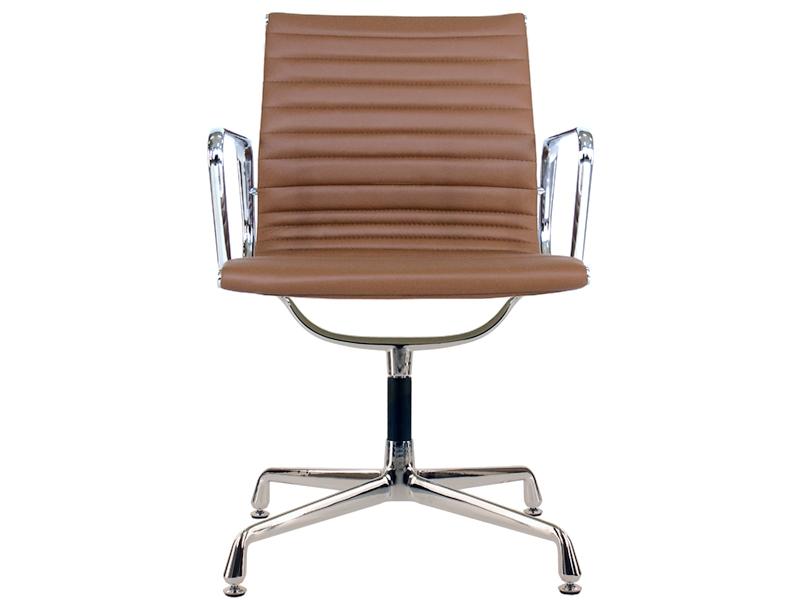 Chaise visiteur ea108 caramel for Chaise visiteur