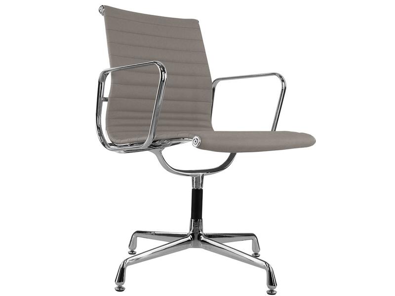 chaise visiteur ea108 gris clair. Black Bedroom Furniture Sets. Home Design Ideas