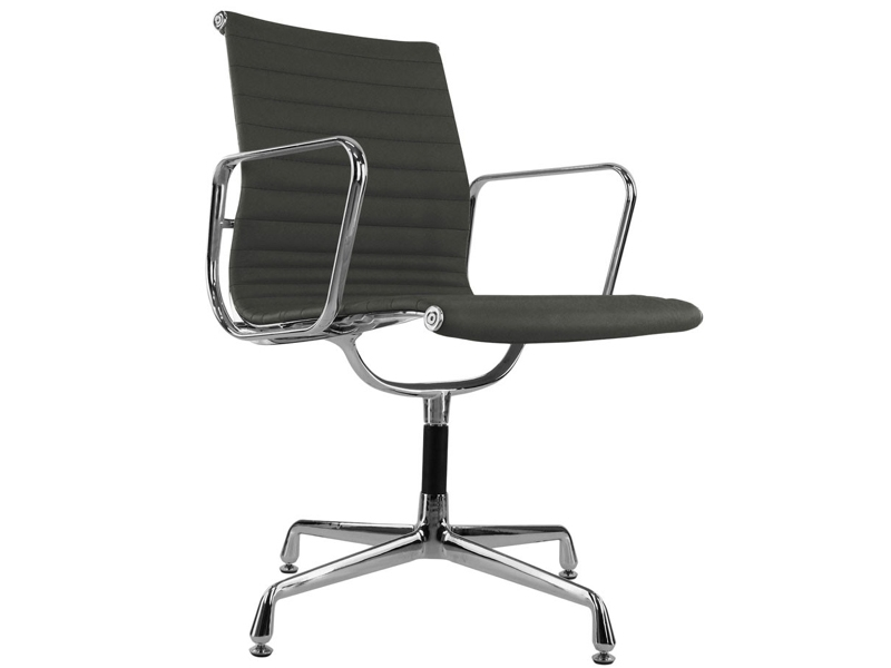 Chaise visiteur ea108 gris for Chaise visiteur