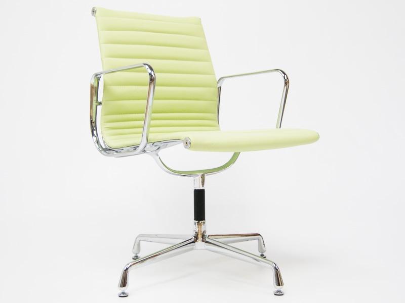 Chaise visiteur ea108 vert citron for Chaise visiteur