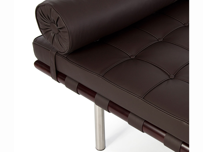Image de l'article Daybed Barcelona 195 cm - Marron foncé