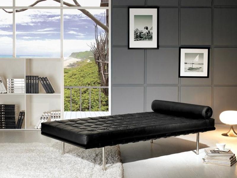 Image de l'article Daybed Barcelona 200 cm - Noir