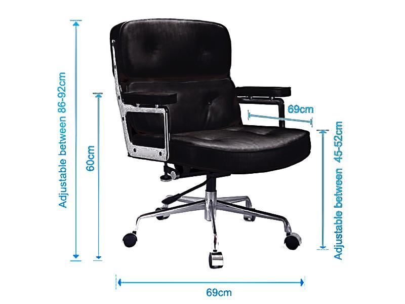 Image de l'article Eames Lobby ES104 - Noir