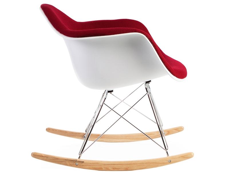 eames rar rembourr e laine rouge. Black Bedroom Furniture Sets. Home Design Ideas