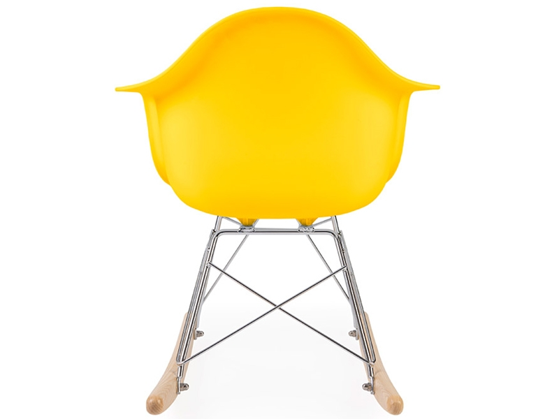 Image of the item Eames rocking chair RAR bambino - Giallo