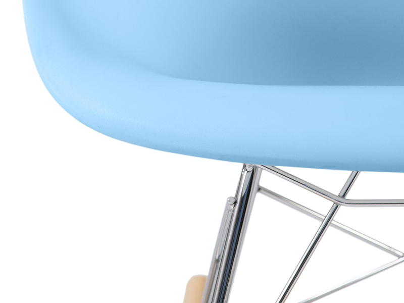 eames rocking chair rar enfant bleu. Black Bedroom Furniture Sets. Home Design Ideas