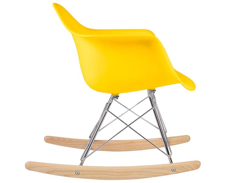 eames rocking chair rar enfant jaune. Black Bedroom Furniture Sets. Home Design Ideas