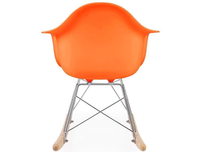 eames rocking chair rar enfant orange. Black Bedroom Furniture Sets. Home Design Ideas