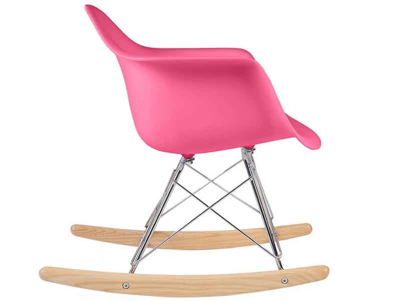 eames rocking chair rar enfant rose. Black Bedroom Furniture Sets. Home Design Ideas