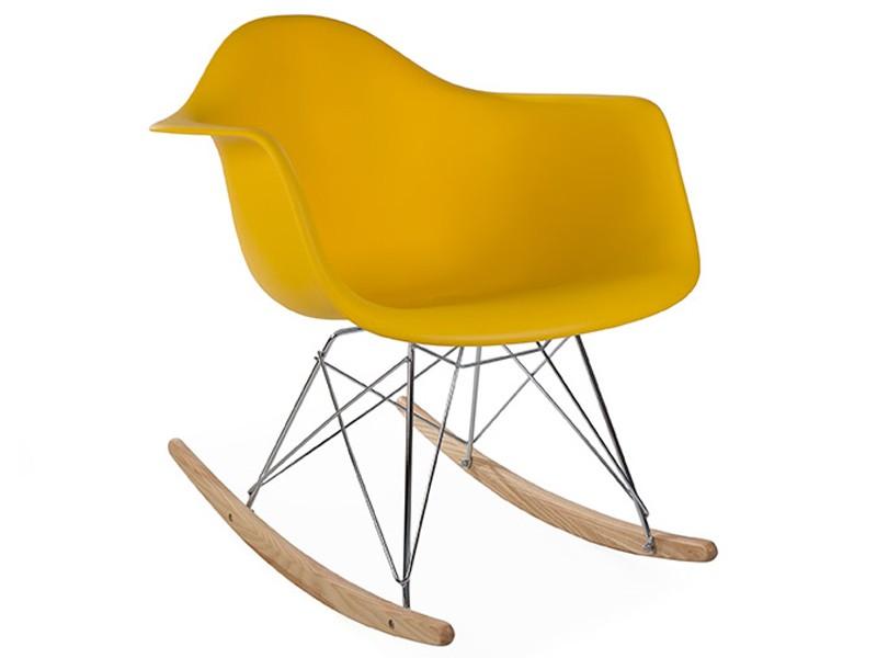 Eames Rocking Chair RAR Jaune moutarde