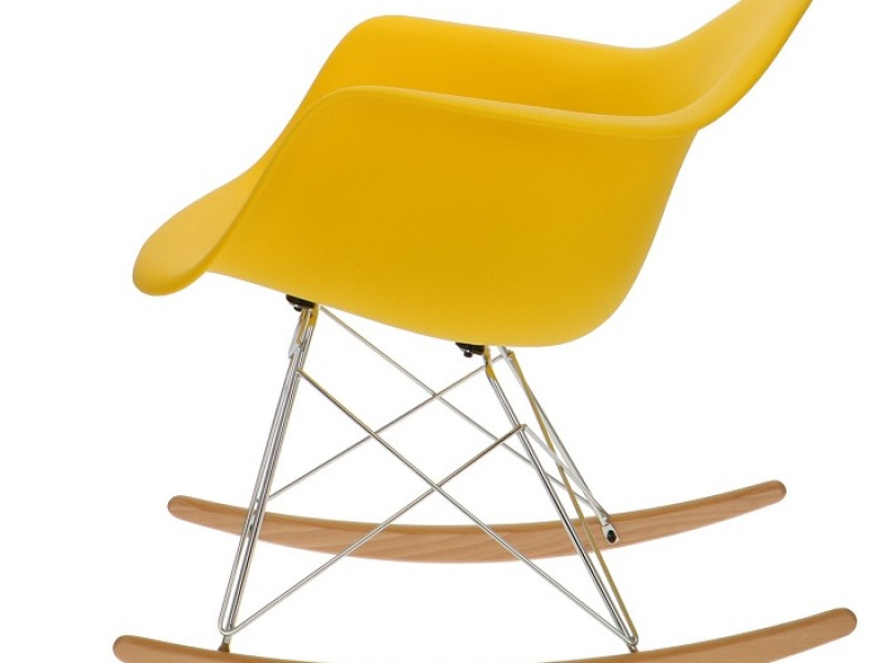 Image of the item Eames Rocking Chair RAR - limone