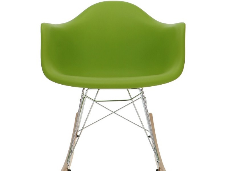 Image of the item Eames Rocking Chair RAR - Verde