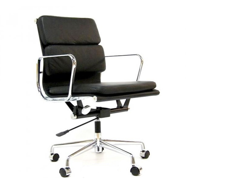 Eames soft pad ea217 noir for Chaise bureau eames