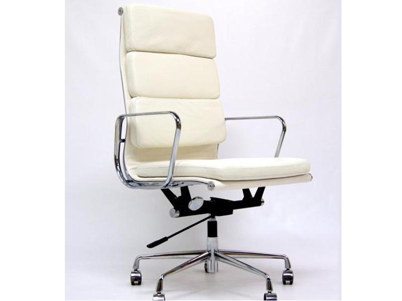 Eames soft pad ea219 blanc ivoire - Chaise blanc d ivoire ...
