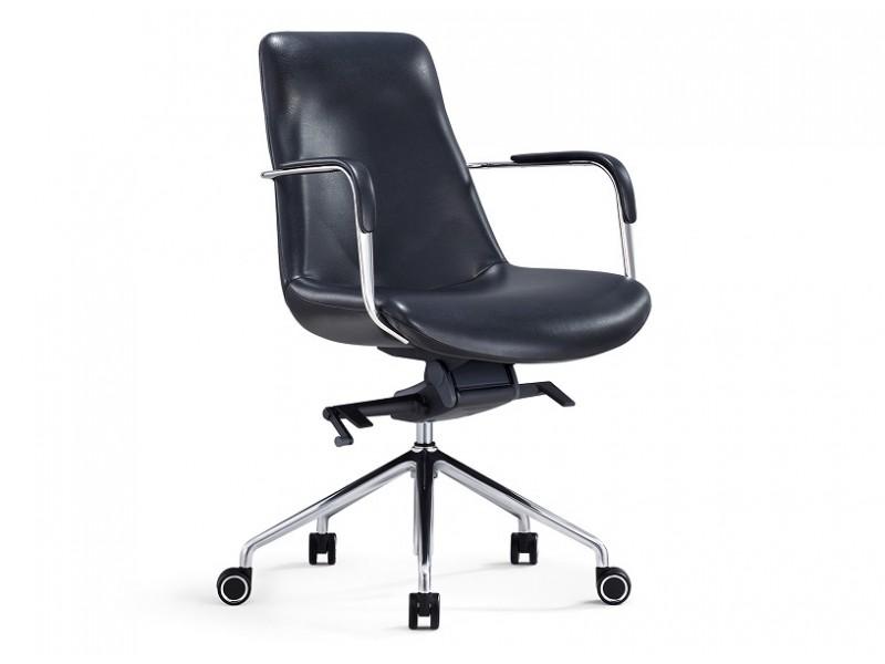 Image de l'article Fauteuil de bureau ergonomique 1732M-03 - Noir