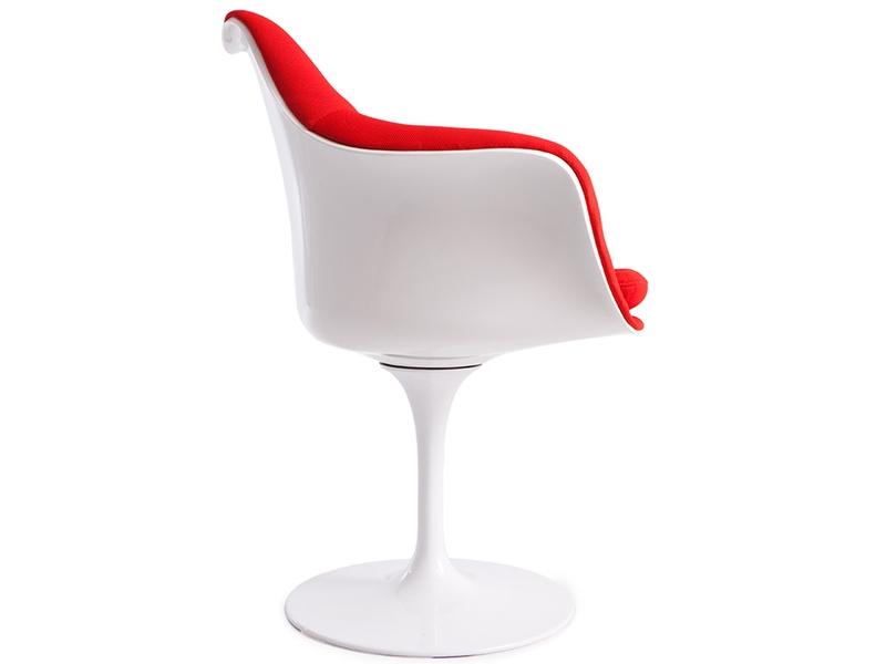 Image de l'article Fauteuil Tulip Saarinen - Rembourrée laine