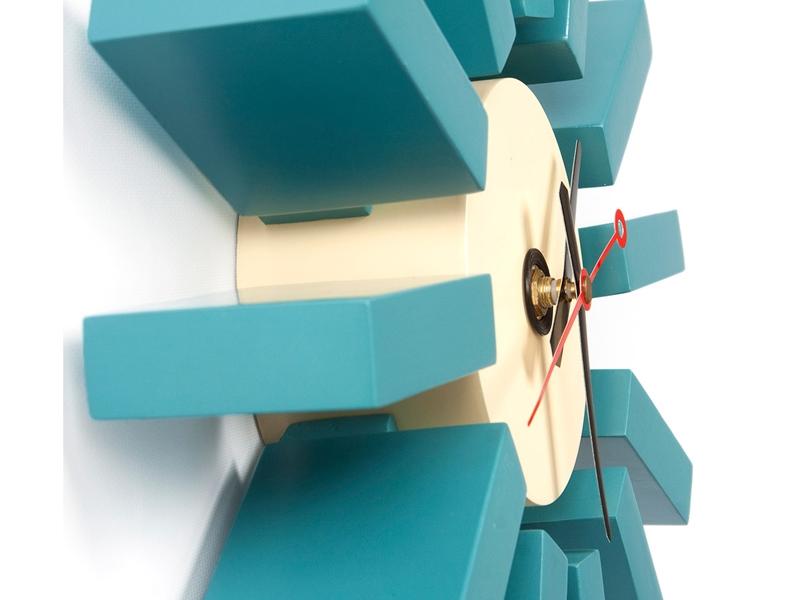 Image de l'article Horloge murale Blue Bar - George Nelson