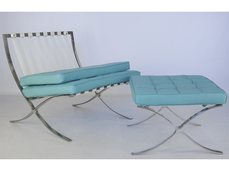Image of the item Poltrona Barcelona - Blu cielo
