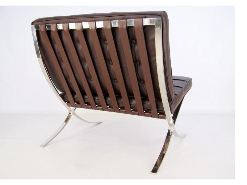 Image of the item Poltrona Barcelona - Marrone scuro