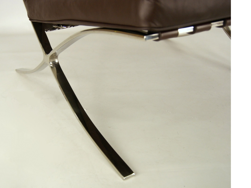 Image of the item Poltrona Barcelona - Marrone scuro