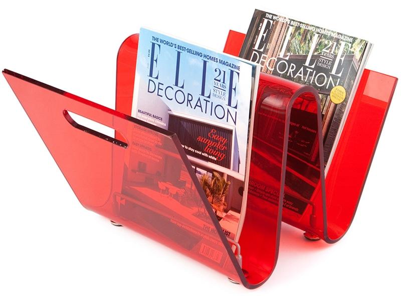 Image de l'article Porte revue The Wave - Rouge